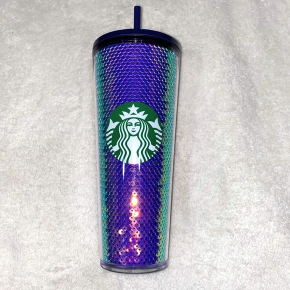 Starbucks Holiday Collection Iridescent Purple Cup